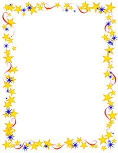 clip art borders | Free Borders and Clip Art | Downloadable Free Stars Borders