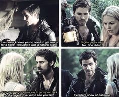 """Hook and Emma - I see moments like this and if I were the writers, I'd just be sitting there thinking """"WAS THAT /CLEAR/ ENOUGH?!?!? OR ARE YOU IGNORING /EVERYTHING/ THAT'S BEEN HAPPENING?"""""""