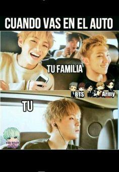 Musica + audífonos =felicidad Familia + viaje=