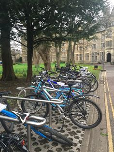 Bikes are very popular at St Andrews!