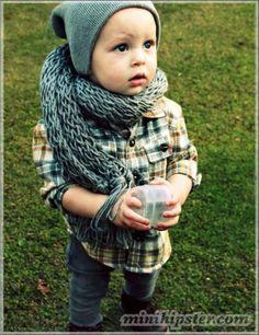 Love this little guys style!