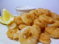 Calamari! Delicious!