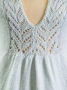 Lace Insertion of the Sylvia Sweater by jodie