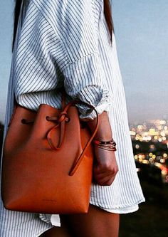 #mansurgavriel bucket bag