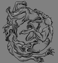 Ouroboro Tattoo Design