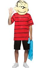 PEANUTS LINUS SNOOPY COMIC STRIP ADULT MENS FANCY DRESS HALLOWEEN COSTUME