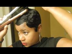 How I style my short cut!