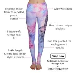 Recycle Plastic Bottles, Live Long, Second Skin, Yoga Leggings, Trees To Plant, Ankle Length, How To Draw Hands, Stuff To Buy, Style