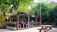 Best Beer Gardens in London | London Nightlife | LondonTown.com London Nightlife, London Pubs, Nightlife Travel, Riverside Terrace, Harbor Park, Rooftop Restaurant, Work Images, Best Beer, Travel Light