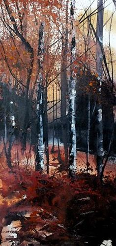 Pete Gilbert - winter in New Forest