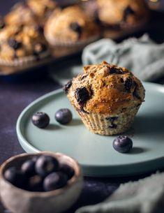 Áfonyás-mákos muffin 12db Muffin, Vegan, Breakfast, Food, Morning Coffee, Eten, Cupcakes, Muffins, Meals