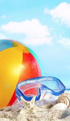 Beach balls.