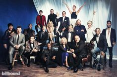 Billboard - Exclusive: Portraits of Sam Smith, Jennifer Hudson and More at Clive Davis' 2015 Pre-Grammy Gala