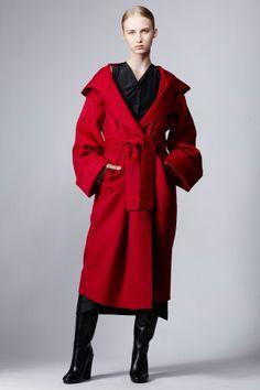 Isa Arfen Oversized Easy Hooded Coat - WOMEN - JUST IN - Isa Arfen - OPENING CEREMONY