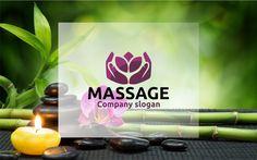 Massage logo by BekBlack on @creativework247