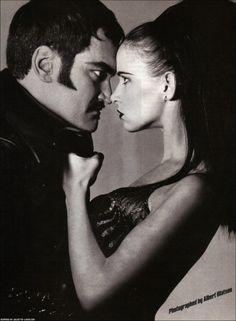 Quentin Tarantino with Juliette Lewis