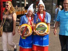 At the Thursday cheese market in Gouda - Waterway Wanderer: Netherlands waterway cruise - Alphen aan der Rijn to Gouda