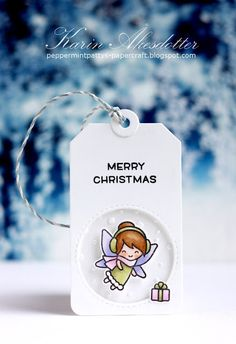 For Lawn Fawn'sFawny Holiday Week  this year I've created two cute tags with their new super adorable Frosty Fairy Friends  set:           ...