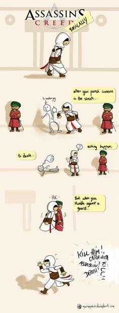 Assassins Creed Basically I by ~muramoko on deviantART