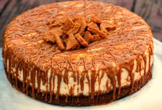 Cookie Butter Cheesecake | Aunt Bee's Recipes