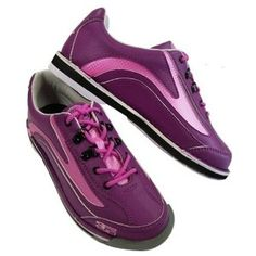 900 Global Womens Sport Classic Purple/Pink Bowling Shoes- Right Hand