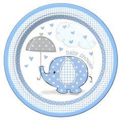 Resultado de imagen para baby shower elefante niño