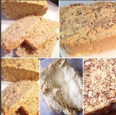 """Em termos de sabor, este foi provavelmente o """"pão"""" mais pão que já fiz até hoje. Matei as saudades :D      Ingredientes:   1 chávena de linh..."""