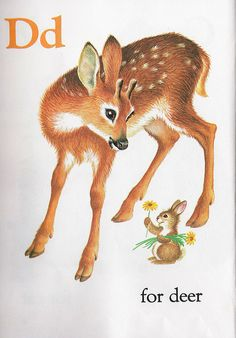 illustration by Garth Williams- would look cool framed in a baby room Vintage Children's Books, Vintage Art, Garth Williams, Oh Deer, Baby Deer, Baby Kind, Woodland Creatures, Children's Literature, Children's Book Illustration