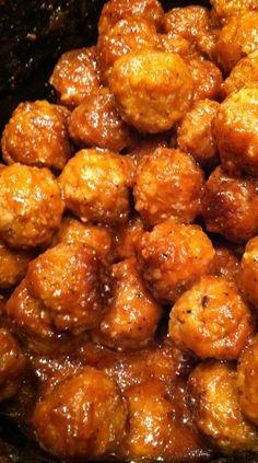 Crockpot Sticky BBQ Meatballs Recipe
