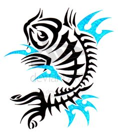 Tribal Koi Fish Tattoos | Tribal Koi Fish Tattoo – Bend of Japanese Tattoo and Tribal Tattoo ...