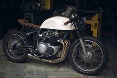 Honda CB 500 Cafe Racer by Kinetic Motorcycles #motorcycles #caferacer #motos | caferacerpasion.com Most beautyfull bike ever made.