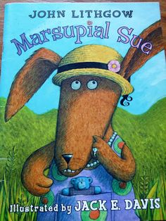 Today was all about kangaroos, wallabies, and wallaroos! After teaching about them, we listened to the book Marsupial Sue by John Lithgow. Kangaroo Craft, John Lithgow, Australia Animals, Letter K, Bedtime, Mammals, Childrens Books, Kid Books, Kangaroos