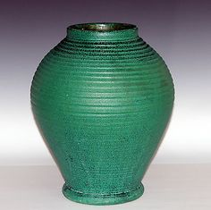 #Large antique merrimac american arts and crafts pottery matt #green vase #grueby,  View more on the LINK: 	http://www.zeppy.io/product/gb/2/131070322116/