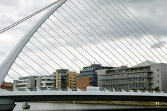 THE SAMUEL BECKETT BRIDGE IN DUBLIN - MY FIRST DAY USING A SIGMA DP3 MERRILL CAMERA ON THE STREETS OF DUBLIN AND IN THE DOCKLANDS [BY WILLIAM MURPHY]