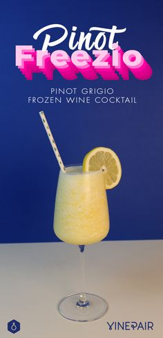 Move over, Frosé! Pinot Freez-io is this summer's yummiest frozen treat. This delicious white wine slushie features Pinot Grigio (obviously) and pineapple. It's the boozy, frozen summer treat you've been waiting for. Cheers!