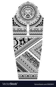 Tattoo Maori, Maori Tattoo Designs, Full Sleeves Design, Infinity Tattoos, Beautiful Rangoli Designs, Sleeve Designs, Bulgaria, Sleeve Tattoos, Tatoos