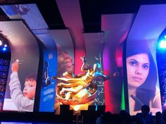 NBC's Education Nation Broadcast - Projection Mapped Stage: