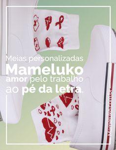 Meias personalizadas Mameluko amor pelo trabalho ao pé da letra! Aproveitem está na promoção!  #EuUsoMameluko #NaMamelukoTem #EuQueroMameluko #MamelukoCalçados #Odonto #Odontologia #Enfermagem #EnfermagemEAmor #UniformeBranco #Nutricionista #Fisioterapia