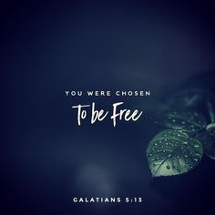#glword For you have been called to live in freedom my brothers and sisters. But dont use your freedom to satisfy your sinful nature. Instead use your freedom to serve one another in love. Galatians 5:13 NLT #bible #bibleverse #holybible