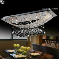 [ $45 OFF ] Most Popular Contemporary Bedroom Lights Crystal Dining Ceiling Lamp Crystal Upscale Atmosphere Chandelier Light