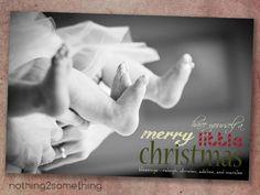Printable Merry Little Christmas Card. $15.00, via Etsy.