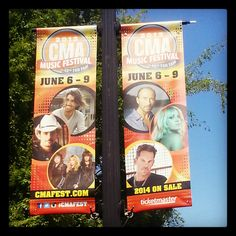 Nashville is ready for CMA Fest next week! Repin if you are ready too!
