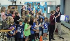 2014 RIDGEWAY, Minn. (WXOW) - Dozens of students at Ridgeway Community School learned a great deal about the weather on Thursday.