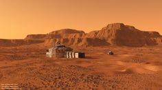 Mars outpost