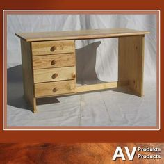 Great student or office desks available from AV Produkte / AV Products. #solidwood #officefurniture