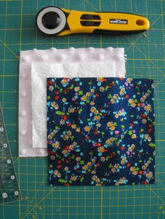 Fabric and Batting, Rotary Cutter