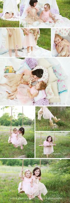 Sister Magic | Imagination Session | Mazie & Danielle | Raeford, NC Child Photographer | Patty K Photography