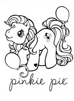 My Little Pony coloring page MLP - Pinkie Pie