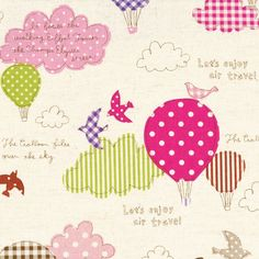 If you can't visit Paris bring Paris to you with these NEW gorgeous whimsical Paris fabrics! 'Balloons over Paris' is a lovely collection. Textile Patterns, Print Patterns, Color Stories, Color Swatches, Box Frames, Whimsical, Balloons, Applique, Kids Rugs