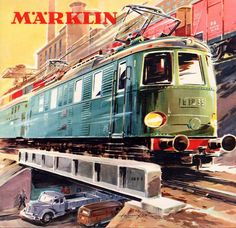 www.haveit.cz World of  Märklin Cataloge - Cover with the 3023 - E18 - Electro Locomotive